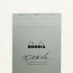 PAScribe Rhodia grau