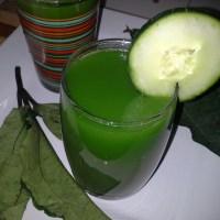 Green Juice - Ugu, apple and ginger