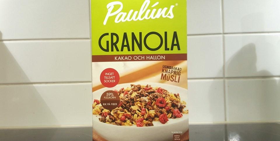 pauluns granola