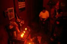kneeling for the blessing. Nebaj, Guatemala| Clare McInerney