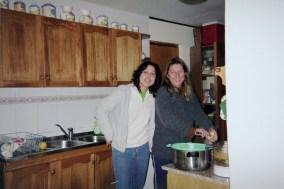 My host mom, Helga, and sister Daniella
