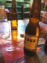 Nothing beats cerveza nacional