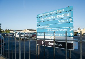 A general view at St Joseph's Hospital in Ennis. Photograph by John Kelly