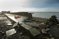 A view of some of the destruction caused by the latest high seas and gales at Cappa, Kilrush. Photograph by John Kelly.