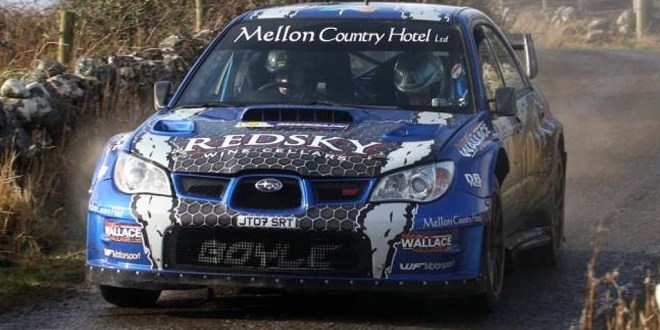 Donegal cousins, Declan & Brian Boyle, took their first ever International rally win on the Colm Quinn BMW Galway International Rally in their Subaru Impreza WRC.