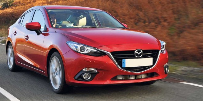 Mazda's new 3 is stylish and modern looking.