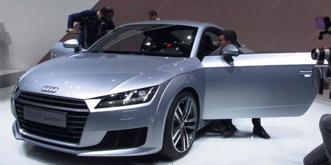 The third generation Audi TT made its debut at Geneva.
