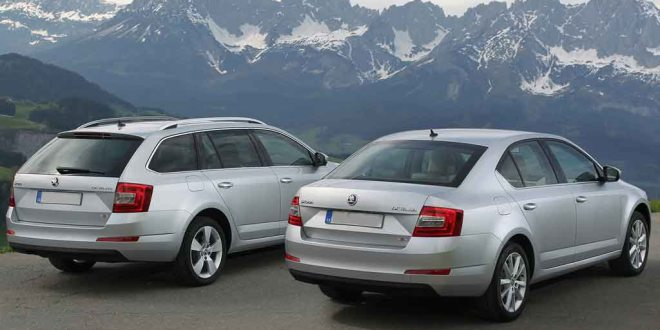 Škoda's Octavia is now available with four wheel drive in both estate and hatchback versions.