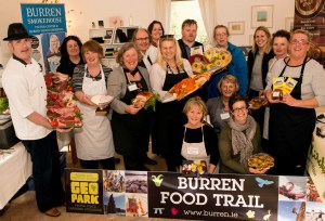 Burren food producers celebrated their EDEn award.