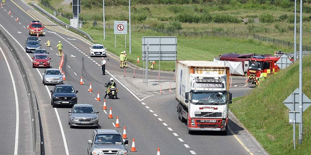 Gardaí confirm fatality following M18 collision – The Clare Champion