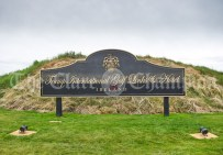 early preparations for Trump Presidential Visit at Doonbeg
