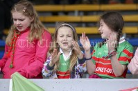 120619 Clooney supporters during the Division 4 Hurling Clare Primary School Finals .Pic Arthur Ellis