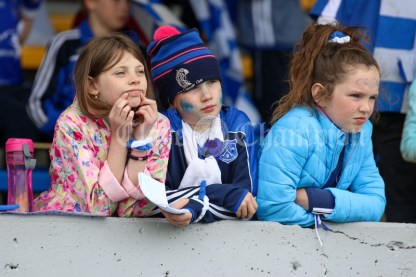 120619 Not much to cheer about for Cratloe fans in the Camogie Division 2 final.Pic Arthur Ellis