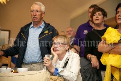 230819 Nora O'Gorman, Liscannor, listening to the tunes in The Inis Oir Hotel during the RNLI fund raising cruise to the Cliffs of Moher and Inis Oir with Doolin2Aran Ferries Star of Doolin on Friday evening.Pic Arthur Ellis.