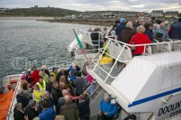 230819 The RNLI fund raising cruise to the Cliffs of Moher and Inis Oir with Doolin2Aran Ferries Star of Doolin on Friday evening.Pic Arthur Ellis.
