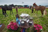 A good selection of silverware up for grabs at Kildysart Show. Photograph by John Kelly
