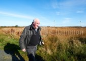 Patrick Brien taking part in the Shades Of Autumn 10k walk in aid of the RNLI on bank Holiday Monday at Shragh. Photograph by John Kelly.