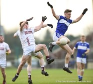 Rowan Danaher of St Breckan's in action against Josh Crowley Holland of Templenoe during their Munster Club Intermediate final at Mallow. Photograph by John Kelly
