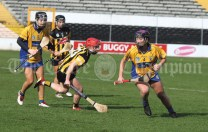 Clare in action against Kilkenny
