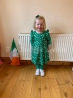 Lucie Mae Lineen 2 years old from Kilmihil