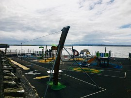 An empty playground at cappa kilrush