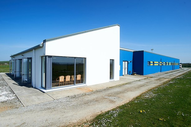 A general view of the exterior of the Clare GAA Centre of Excellence in Caherlohan. Photograph by John Kelly
