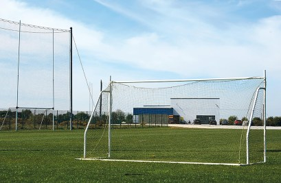 A general view of the senior football training pitch at The Clare GAA Centre of Excellence in Caherlohan. Photograph by John Kelly