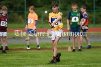 Patrick McInerney from Doora-Barefield competing in the Boys U12 Long Puck event. Photography by Eugene McCafferty