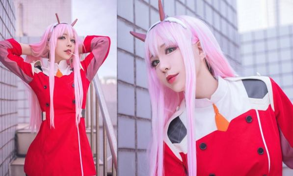 Best Zero Two Cosplay - DARLING in the FRANXX