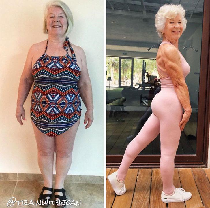 fitness grandma