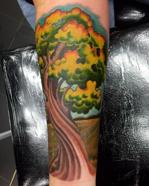 clareketontattoos_wip_tree_queensland_tattoo