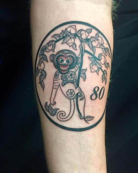 clareketontattoos_wip_yearofthemonkey_tattoo