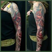 Work in progress - Geisha full sleeve