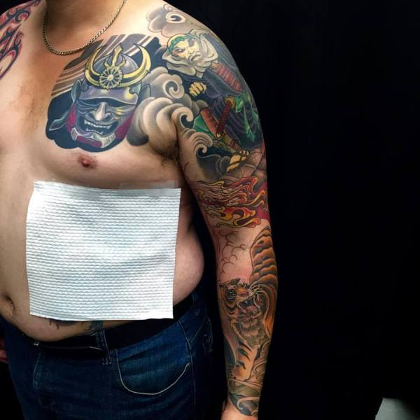 clareketontattoos_wip_benkei_warrior_tattoo