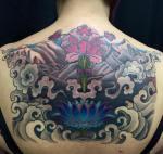 Tibetan Back Tattoo
