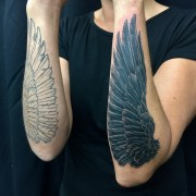 Work in Progress - Forearm Wings