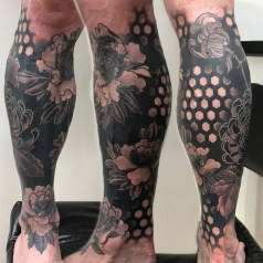 Chrysanthemum/Peony cover up