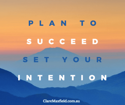 Intend to Succeed
