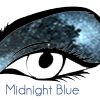 Midnight Blue eyeshadow