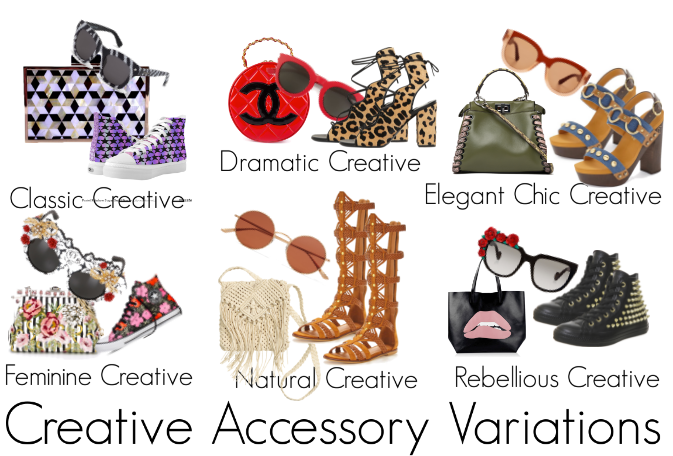 How does a Creative Woman Accessorise