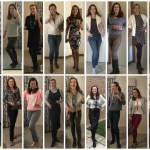 Days 1-20 of 100 days 100 outfits – no repeats