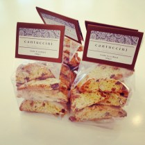 Vanilla Chocolate's delicious Cantuccini Biscuits