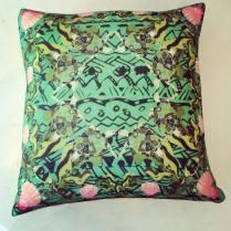 'Sea Turtle' Wool Twill cushion 36cm x 36cm £35