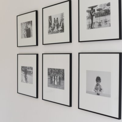 How To Create a Gallery Wall with your Family Photos