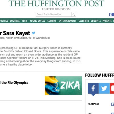 In The Huffington Post!
