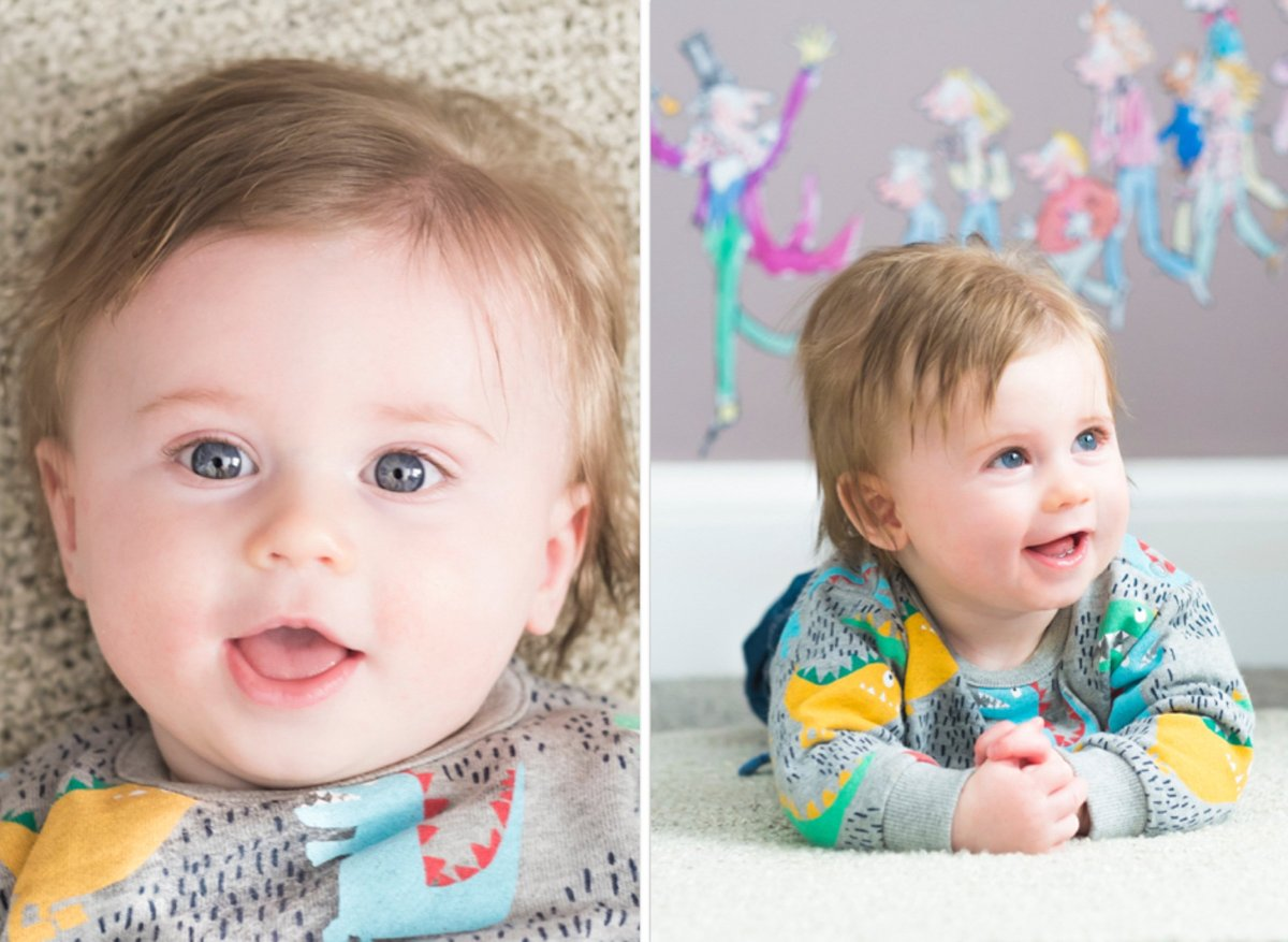 must take baby photos at 3 months