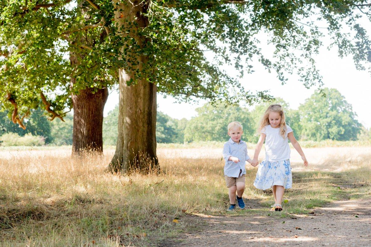 Bushy Park Family Photography, Surrey