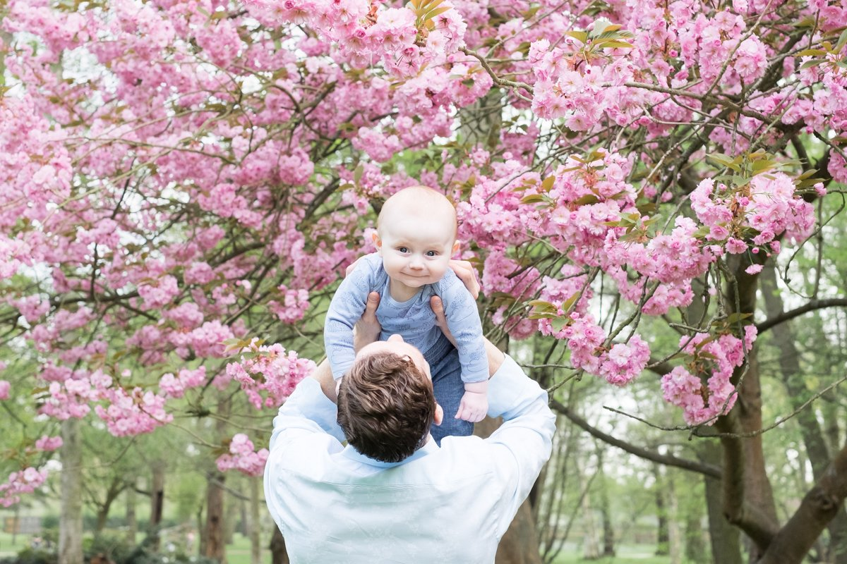 spring family photos in south west london