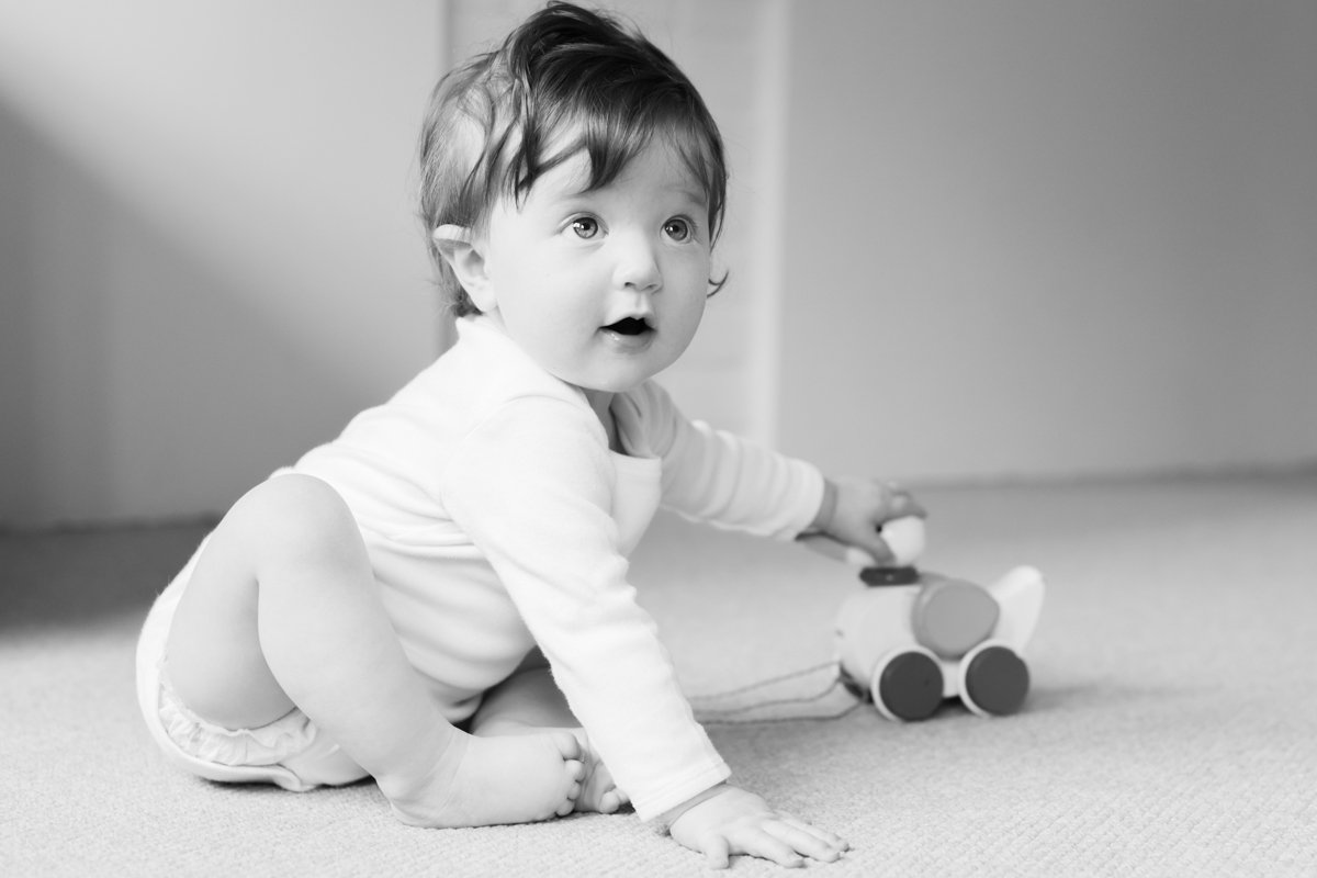Richmond, Surrey Baby Photography At Home