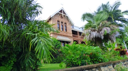 The nineteenth century former convent that houses the museum